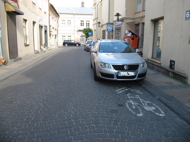 Ścieżka rowerowa w Lublinie