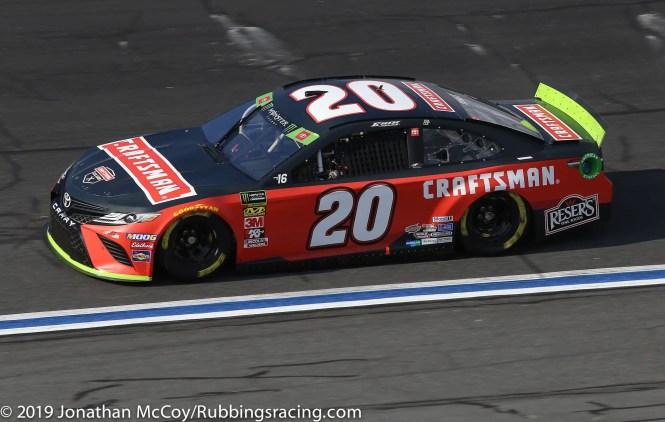 Erik Jones' No. 20 Craftsman Toyota Camry. Photo Credit: Jonathan McCoy/RubbingsRacing.com