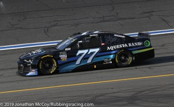 Reed Sorenson's No. 77 Aquesta Bank Chevrolet Camaro ZL1. Photo Credit: Jonathan McCoy/RubbingsRacing.com