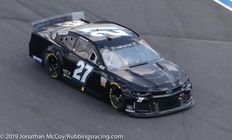 Joe Nemechek's No. 27 Premium Motorsports Chevrolet Camaro ZL1. Photo Credit: Jonathan McCoy / RubbingsRacing.com