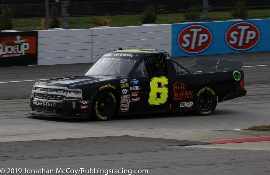 Norm Benning's No. 6 Chevrolet Silverado (Photo Credit: Jonathan McCoy / RubbingsRacing.com)