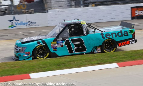 Johnny Sauter's No. 13 Tenda Heal Ford F-150 (Photo Credit: Jonathan McCoy / RubbingsRacing.com)