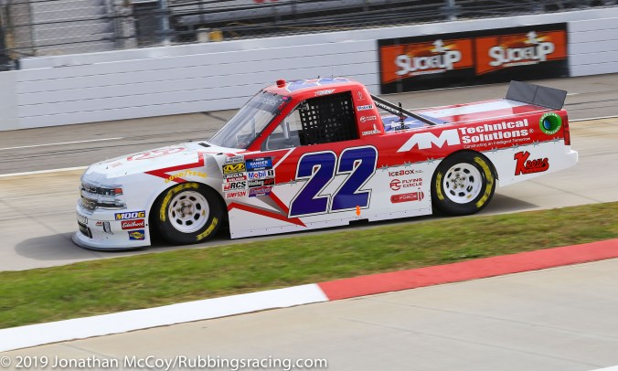 Austin Wayne Self's No. 22 GO TEXAN Chevrolet Silverado (Photo Credit: Jonathan McCoy / RubbingsRacing.com)