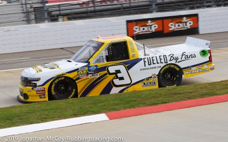 Jordan Anderson's No. 3 Fueled by Fans Chevrolet Silverado (Photo Credit: Jonathan McCoy / RubbingsRacing.com)