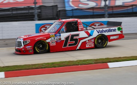 Tanner Gray's No. 15 Valvoline/Durst Toyota Tundra (Photo Credit: Jonathan McCoy / RubbingsRacing.com)