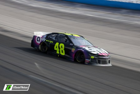 Jimmie Johnson led 40 laps in the AAA Texas 500. Photo Credit: Daniel Nelson / TobyChristie.com