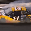 Video: Clint Bowyer Takes Hellacious Hit to Turn No. 2 Wall at Charlotte