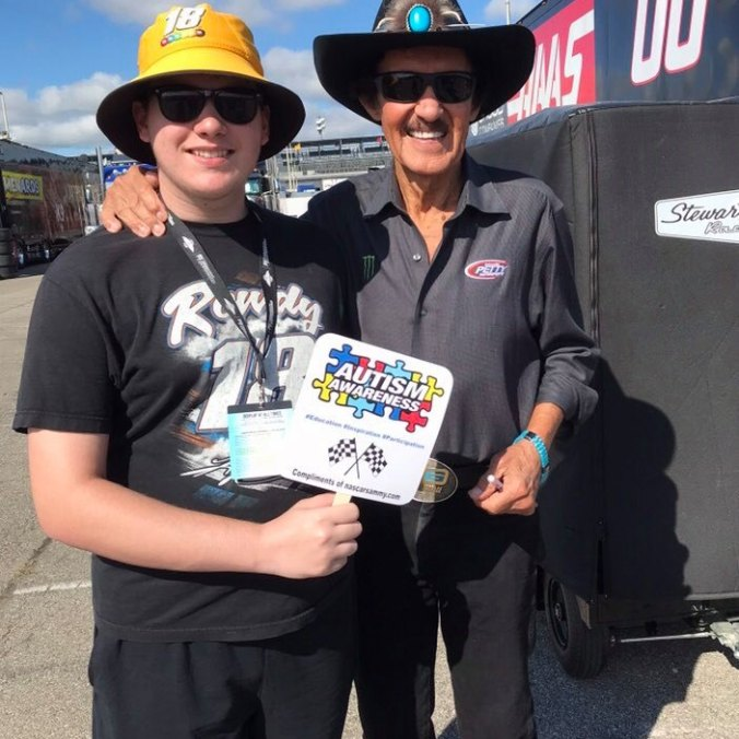 Richard Petty and Sammy (PC: Jennifer Wilson)