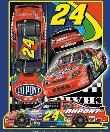 "Jeff Gordon's ""Deal of the Century"" Chevrolet (PC : Sam Bass)"
