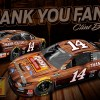 Clint Bowyer to Run Special Scheme at Martinsville Thanking His Fans and Past Sponsors