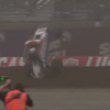 Video: Christopher Bell Flips Violently While Battling for the Lead in Closing Stages of 2021 Chili Bowl