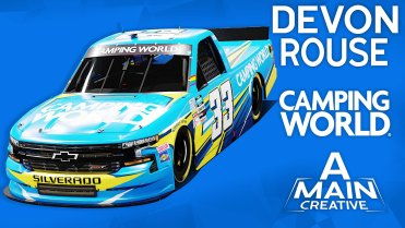 Devon Rouse's No. 33 Camping World Truck Series Scheme for Knoxville