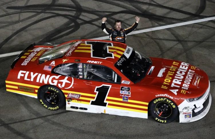 Josh Berry Wins Vegas