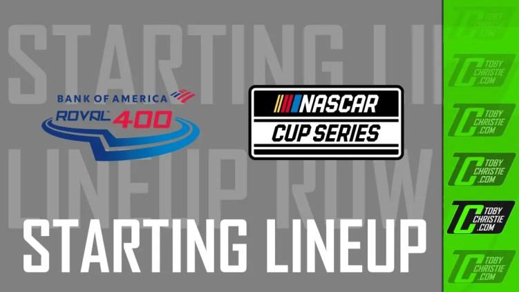 NASCAR Charlotte Roval Lineup