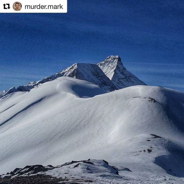 #Repost from @murder.mark ・・・ Mt Nelson from Paradise ...