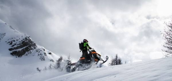 Full Day Powder Snowmobile Tour in Rocky Mountains daily ...