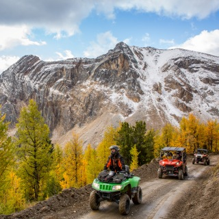 Toby Creek Snowmobile & ATV Tours - Banff | Canmore | Panorama