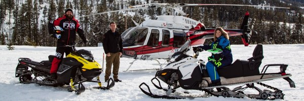 Canadian Rockies Snowmobile Tours - Banff, Canmore and ...