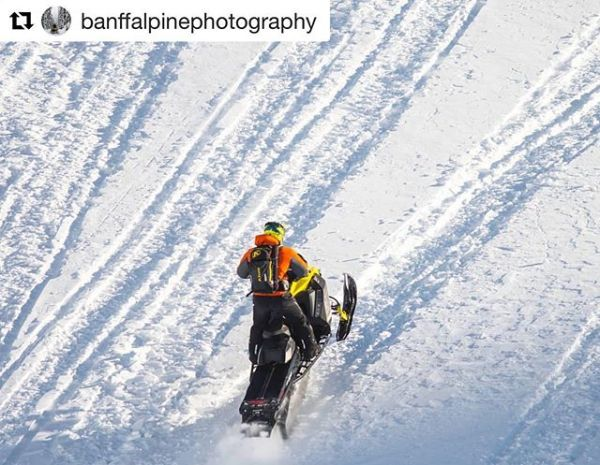 #Repost from @banffalpinephotography ・・・ Mountain sleds ...