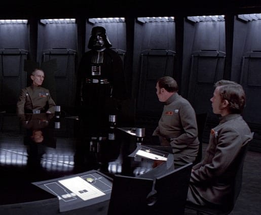 Darth Vader, conference table, Toby Elwin, blog, social metrics, matter, boss