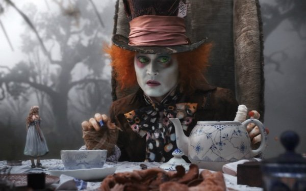 Agile, Scrum, Johhny Depp, Alice in Wonderland, portfolio, Toby Elwin, blog