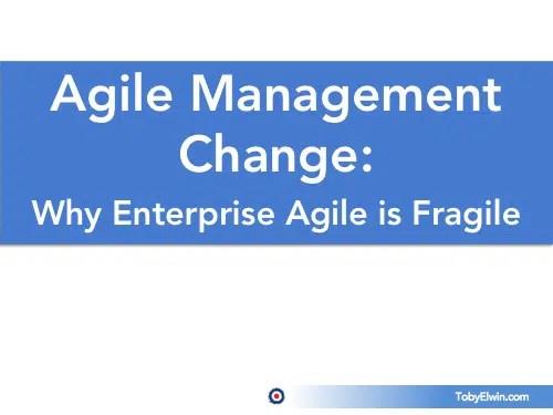 Agile, change management, development, presentation