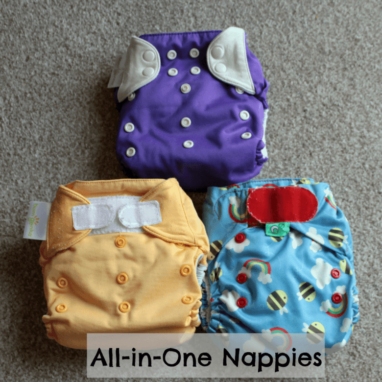 Choosing the right cloth nappy - All-in-One nappies