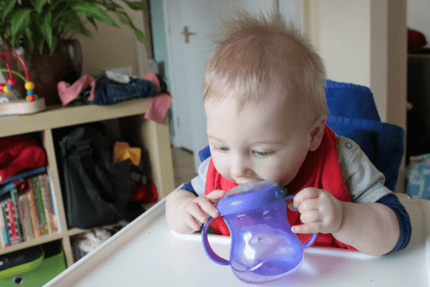 Weaning sippy cup