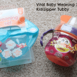 Review: Vital Baby Weaning Set and KidiSipper Tubby