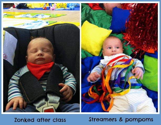 Early days at baby sensory