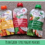 Review: Plum Greek-style yogurt pouches