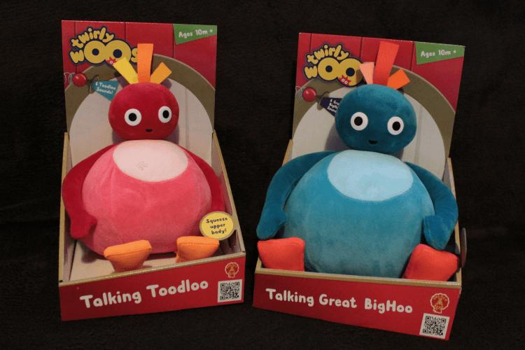 Talking Great BigHoo and Toodloo