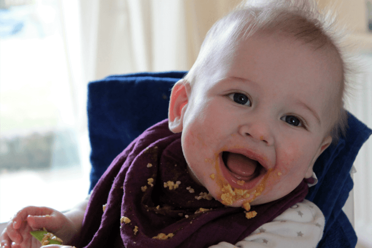 Messy weaning