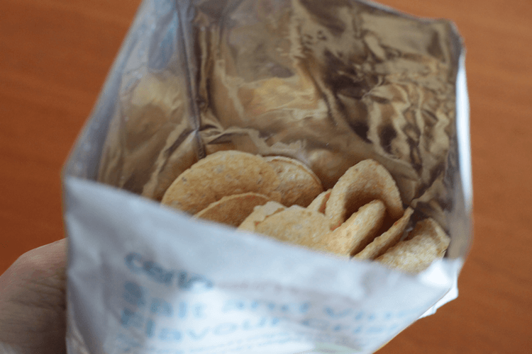 Salt and vinegar Incredi-Crisps