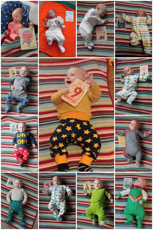 Gabriel from 0-9 months