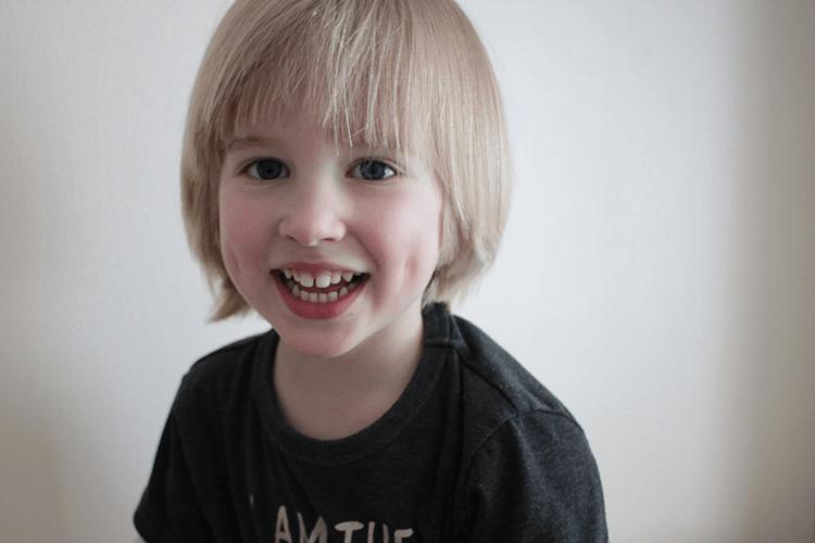 Toby's lovely smile