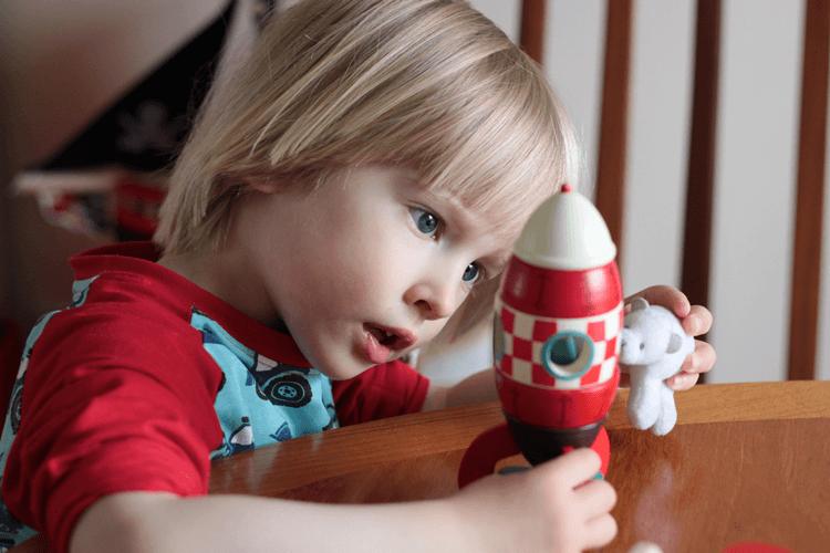 Imaginative play at three years old