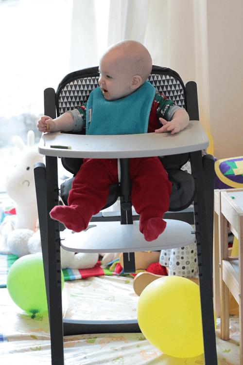 Babymoov Light Wood High Chair