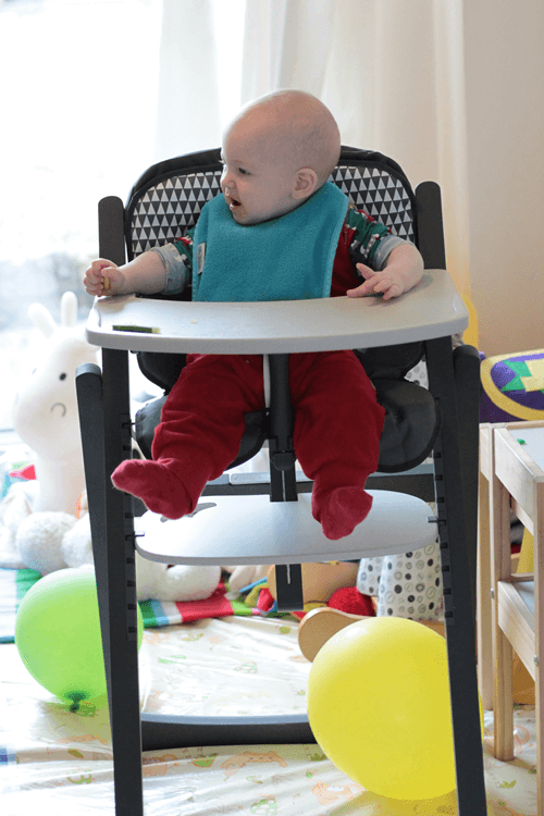 Babymoov Light Wood High Chair