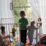 Siblings // Toby and Gabe in September