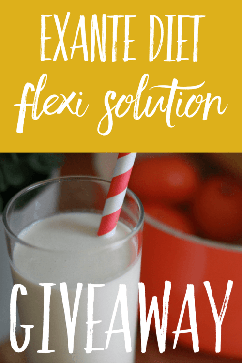 Exante Diet Flexi Solution Giveaway