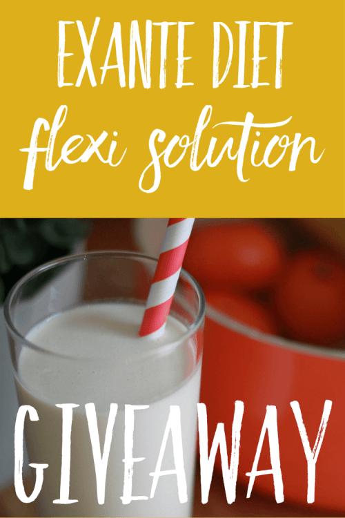 Exante Diet Flexi Solution Giveaway