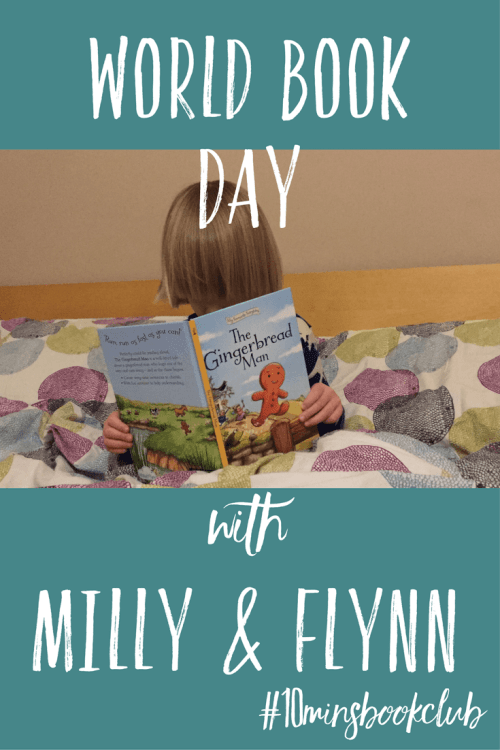 World Book Day with Milly & Flynn