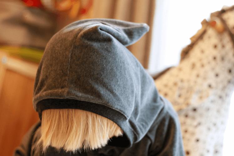 Albababy Habian hoody pixie hood