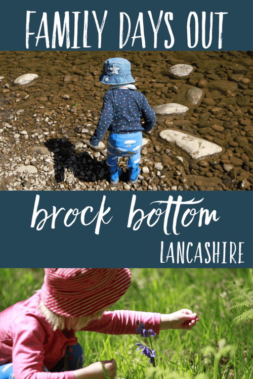 Family days out Brock Bottom near Garstang, Lancashire
