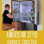 Hisense Fridge Freezer review // My American-style fridge freezer of dreams