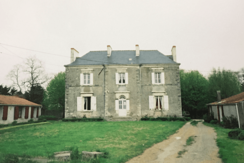 The house in France where I lived in 2001