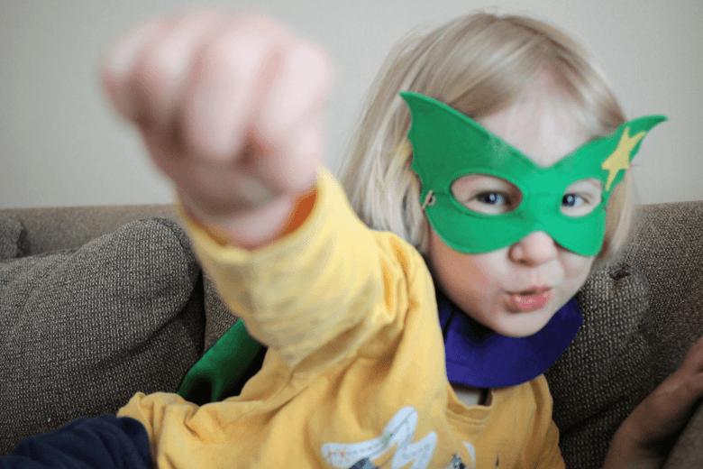Super T - Toby's very own superhero