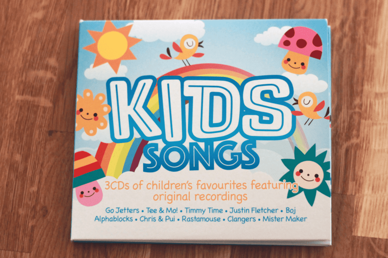 Kids Songs CD - Cbeebies songs