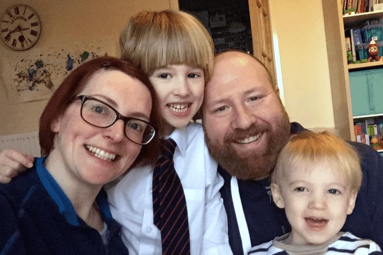 Me & Mine family portrait November 2017